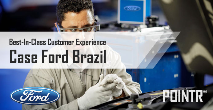 Ford offers the best in class customer experience with AR remote support